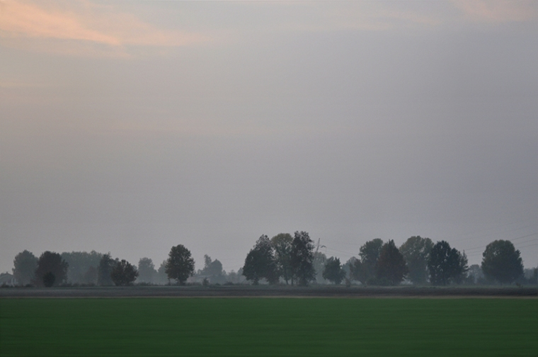 Landscape of the Padan Plain